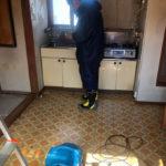 アパート室内原状回復作業/東京都足立区