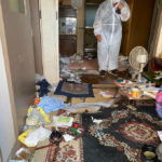 特殊清掃後の残置物撤去作業 作業現場事例